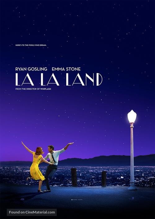 La La Land - New Zealand Movie Poster