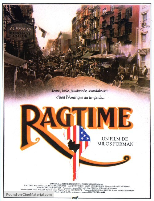 Ragtime - French Movie Poster