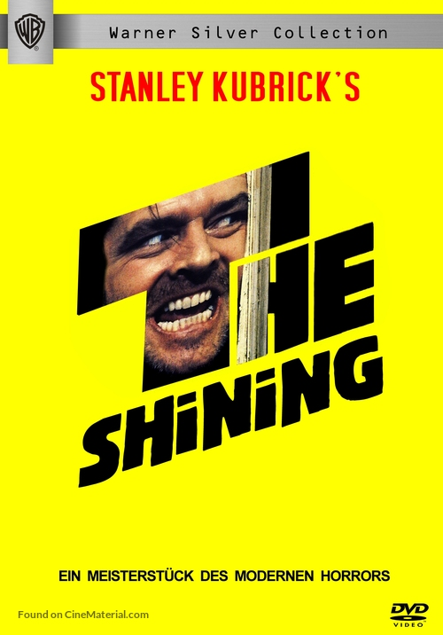 The Shining - German DVD cover