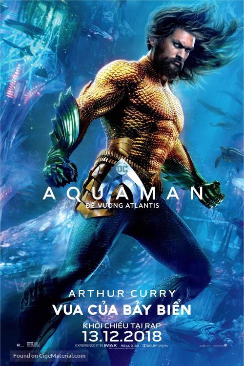 Aquaman - Vietnamese Movie Poster