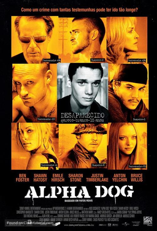 Alpha Dog - Brazilian Movie Poster