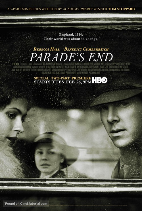 """""""Parade's End"""" - Movie Poster"""