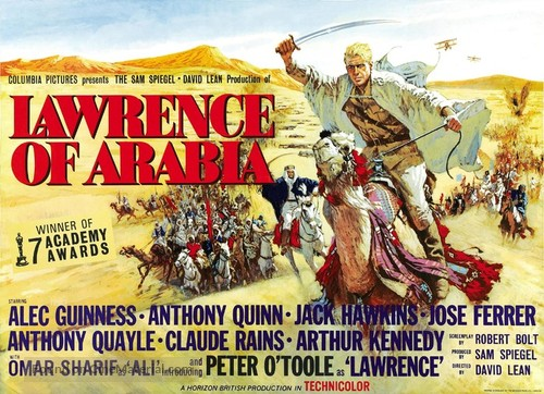 Lawrence of Arabia - British Movie Poster