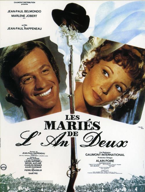 Les mariés de l'an deux - French Movie Poster