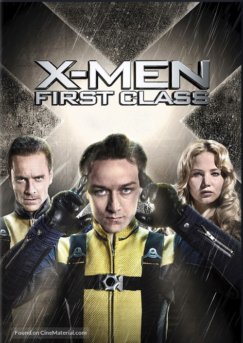 X-Men: First Class - Movie Cover
