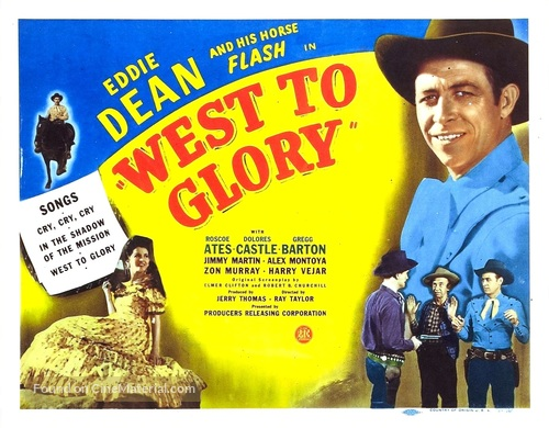 West to Glory - Movie Poster