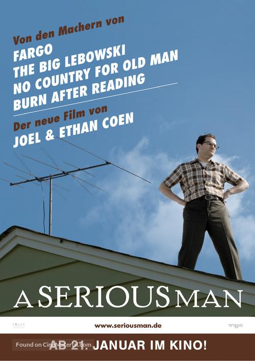A Serious Man - German Movie Poster