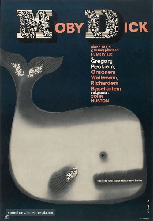 Moby Dick - Polish Movie Poster