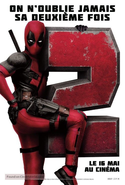 Deadpool 2 - French Movie Poster