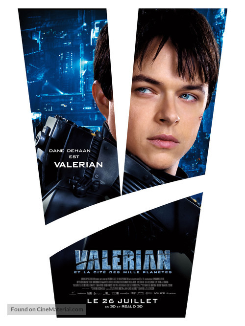 Valerian and the City of a Thousand Planets - French Movie Poster