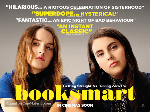 Image result for booksmart poster