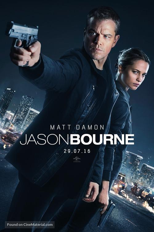 Jason Bourne - British Movie Poster