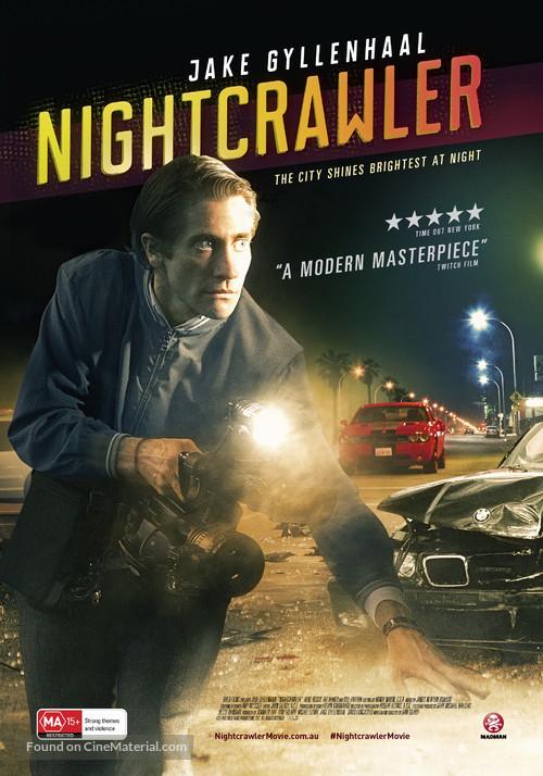 Nightcrawler - Australian Movie Poster