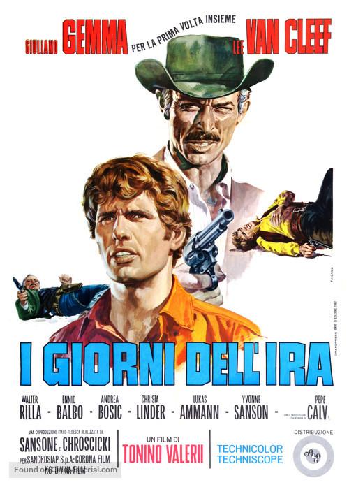 I giorni dell'ira - Italian Movie Poster
