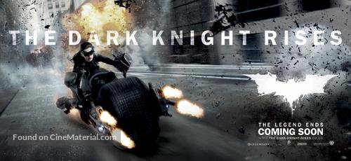The Dark Knight Rises - British Movie Poster