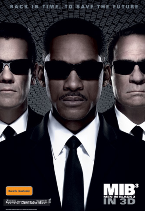 Men in Black 3 - Australian Movie Poster