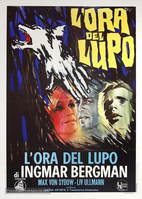 Vargtimmen - Italian Movie Poster