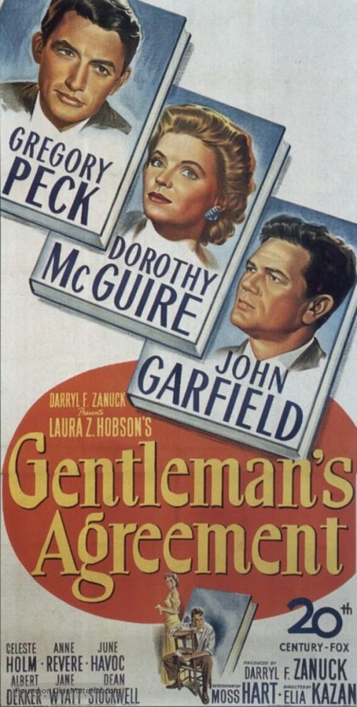 Gentlemans Agreement Movie Poster