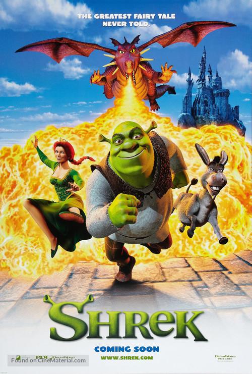 Shrek - Movie Poster