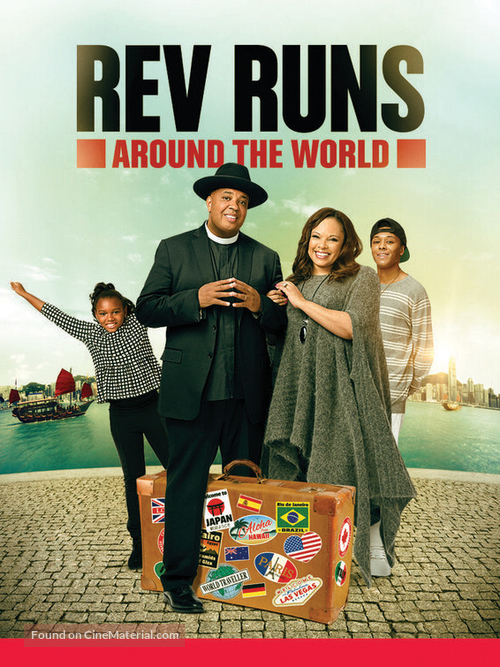 """Rev Runs Around the World"" - Movie Poster"