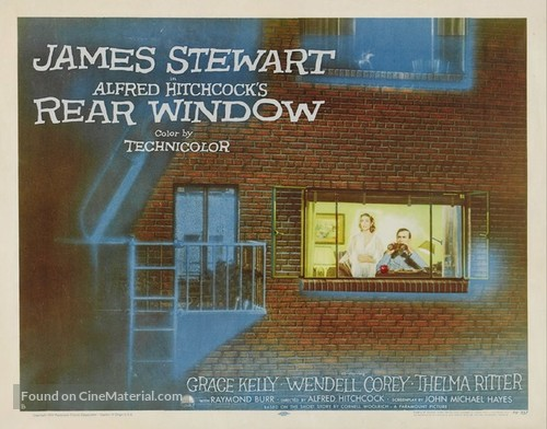 Rear Window - Movie Poster