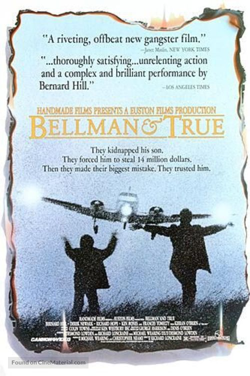 Bellman and True - Movie Poster
