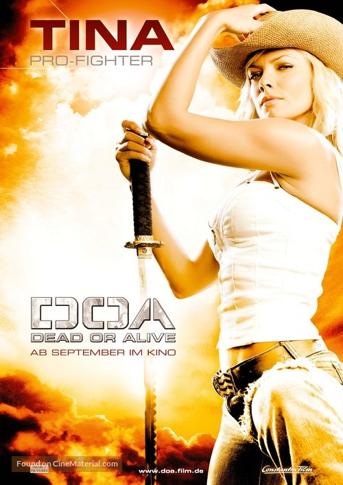 Dead Or Alive - German Teaser poster