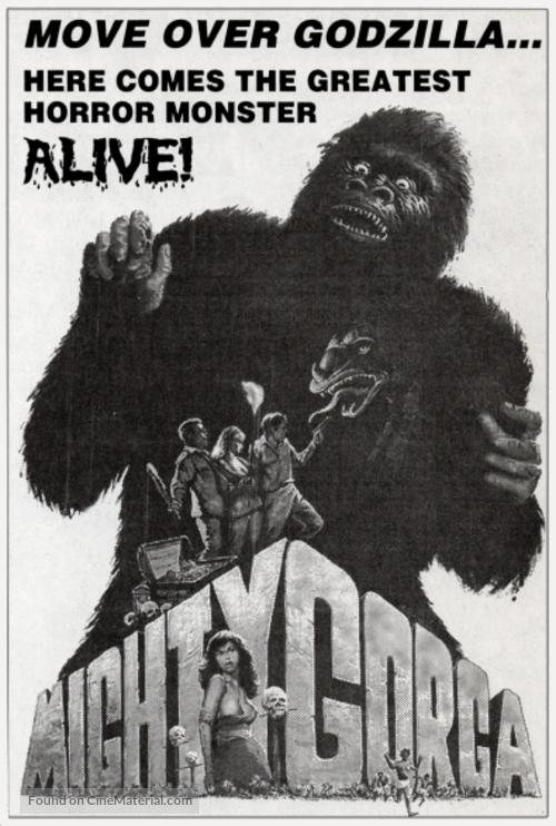 The Mighty Gorga - Movie Poster