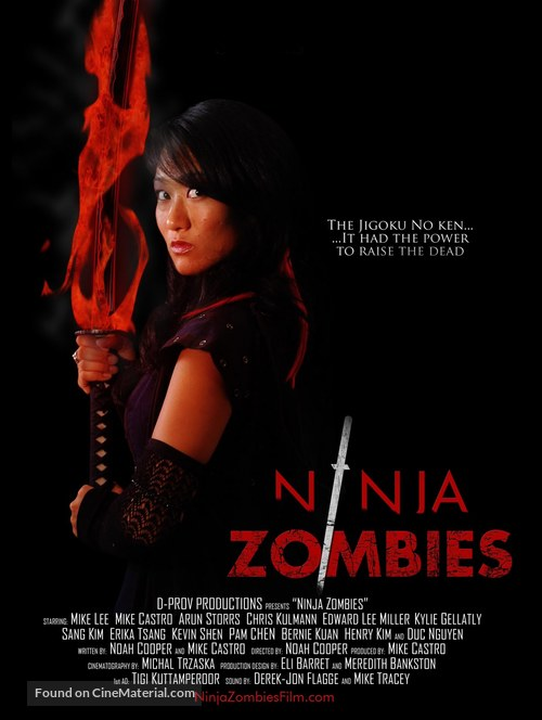 Ninja Zombes - Movie Poster