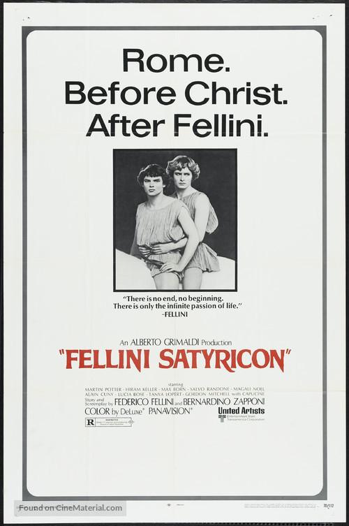 Fellini - Satyricon - Movie Poster