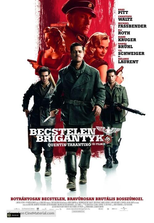 Inglourious Basterds - Hungarian Movie Poster