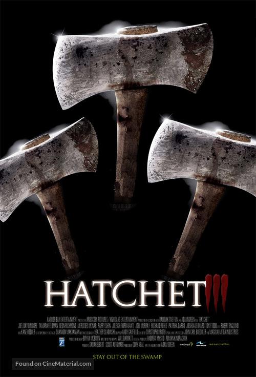 Hatchet III - Movie Poster
