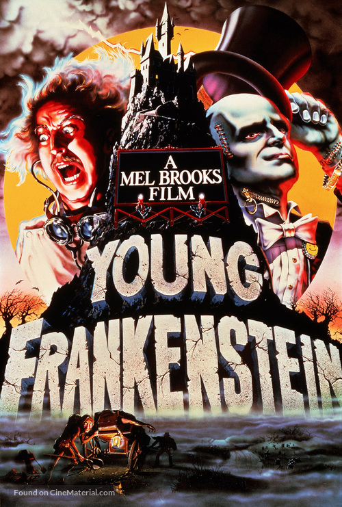 Young Frankenstein - DVD movie cover