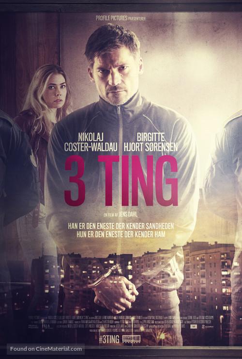 3 Ting - Danish Movie Poster