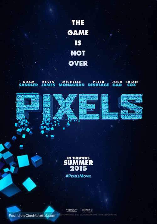 Pixels - Movie Poster