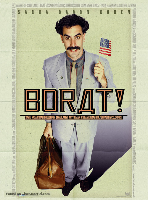 Borat: Cultural Learnings of America for Make Benefit Glorious Nation of Kazakhstan - British Movie Poster