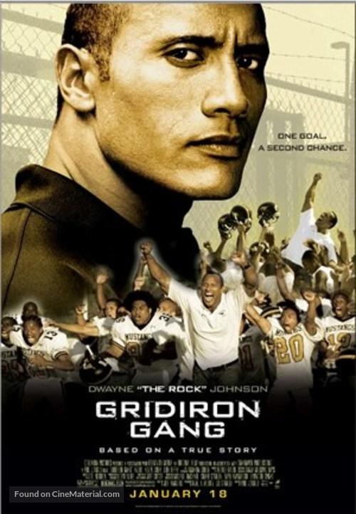 Gridiron Gang - Thai Movie Poster