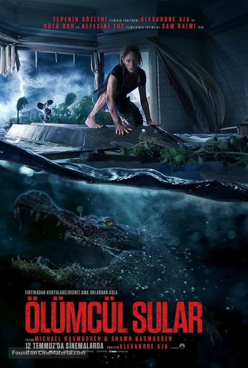 Crawl - Turkish Movie Poster