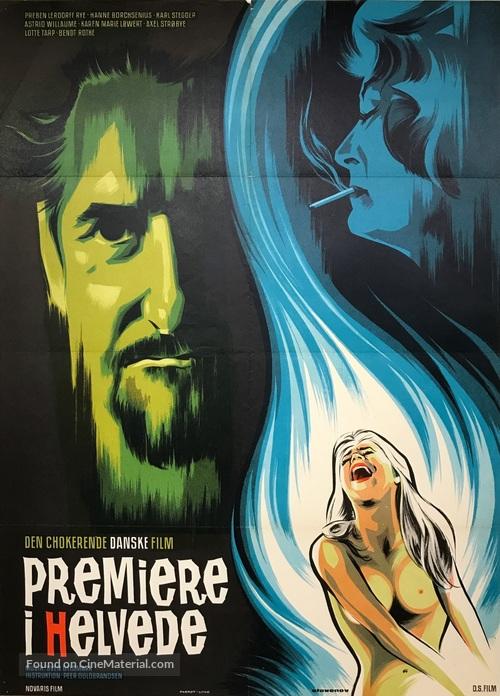 Premiere i helvede - Danish Movie Poster