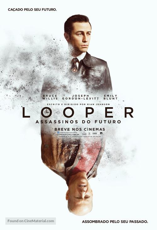 Looper - Brazilian Movie Poster