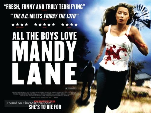 All the Boys Love Mandy Lane - British Movie Poster