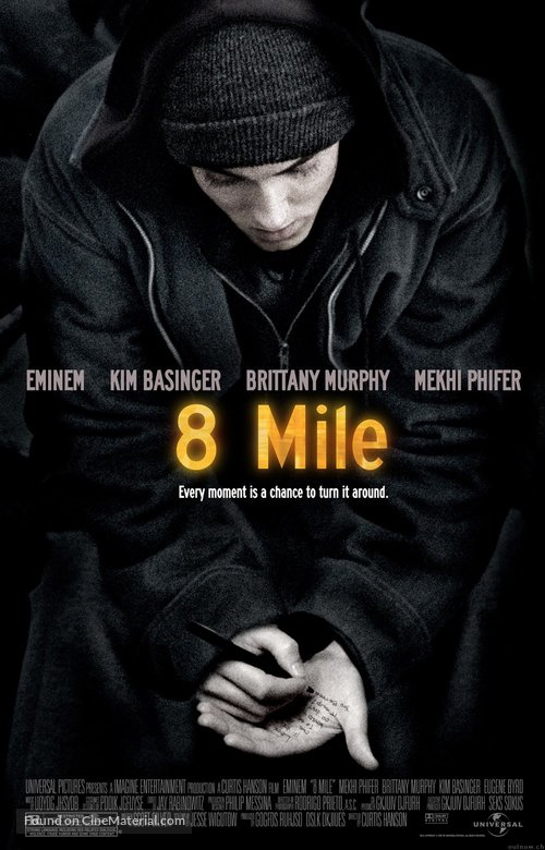 8 Mile - Movie Poster