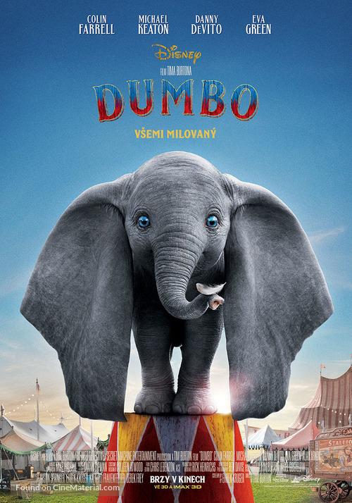 Dumbo - Czech Movie Poster