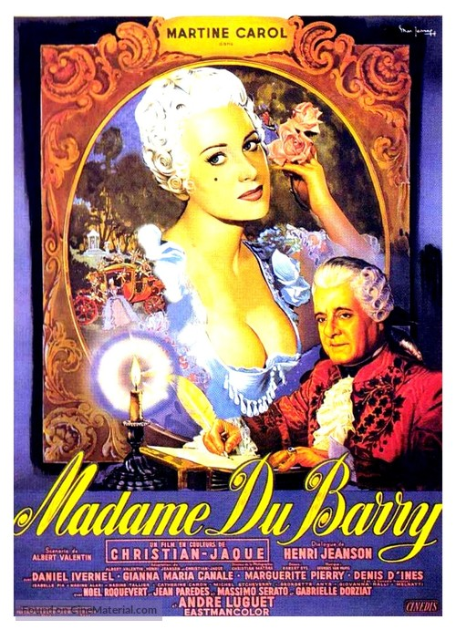 Madame du Barry - French Movie Poster