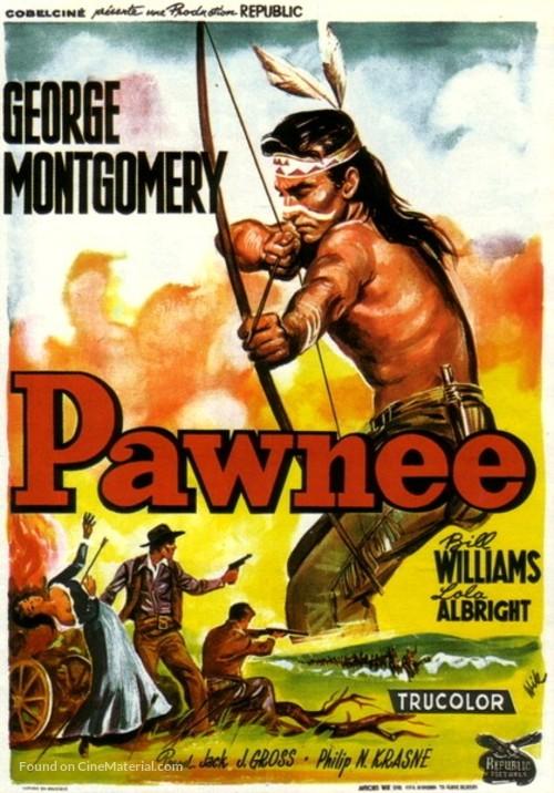 Pawnee - Belgian Movie Poster