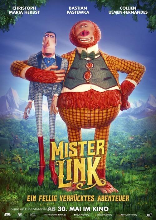 Missing Link - German Movie Poster
