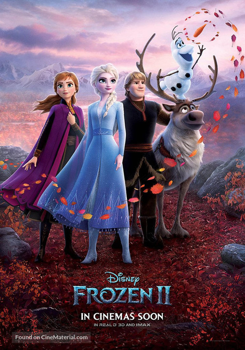 Frozen II - British Movie Poster