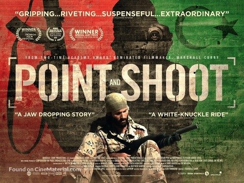 Point and Shoot - British Movie Poster