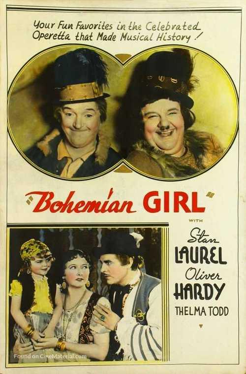 The Bohemian Girl - poster