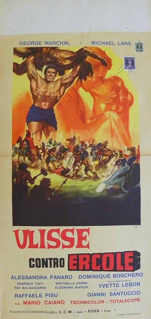 Ulisse contro Ercole - Italian Movie Poster